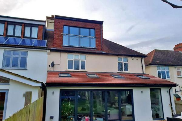 Loft Conversion, Rear Extension and House Refurbishment
